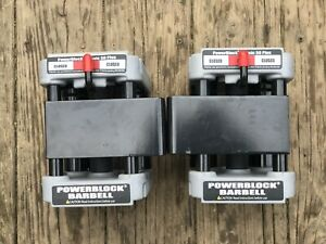 *Rare* PowerBlock Classic 50 Plus EZ Curl Bar Adjustable Barbell