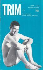 Trim No.31, April 1963, Vintage Male Beefcake Gay Magazine