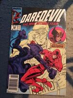 Daredevil #248 1st Bushwacker Appearance Newsstand Variant [Marvel, 1987]