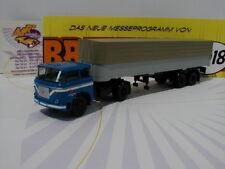 """Brekina 71807 - LIAZ 706 Pritschen-Sattelzug blau-grau """" KVK Gera """" 1:87  NEU"""
