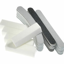 35pcs Nail File Nail Art Sanding Block Acrylic Tips Nail Buffer Manicure Tools