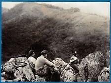 vintage photo French soldiers soldat guerre Indochine Hoa Binh war Vietnam 1951