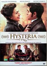 Hysteria - DVD R0 - Maggie Gyllenhaal, Hugh Dancy, Jonathan Pryce, Period Comedy