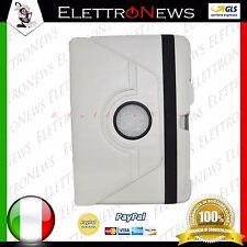 Custodia Cover libro Stand Rotante Samsung N8000 Note