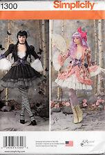 Simplicity Sewing Pattern Gothic Lolita Costume Miss 14 16 18 20 22  UNCUT 1300