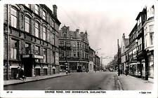 Darlington. Grange Road & Skinnergate # DT 13 by Tuck.