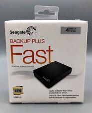 Seagate Backup Plus FAST STDA4000100 4TB USB 3.0 Portable External Hard Drvie