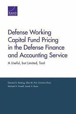 Defense Working Capital Fund Pricing in the Defense Finance and Accoun-ExLibrary