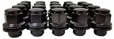 20 Pc BLACK FACTORY OEM TYPE SOLID LUG NUTS TOYOTA CAMRY Part # AP-5307BK