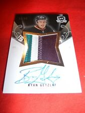 07-08 The Cup Limited LOGO Ryan Getzlaf AUTO 3clr PATCH 29/50 Nice Card L@@K