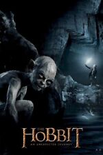 The Hobbit ~ Gollum Watching ~ 24x36 Movie Poster ~ Unexpected Journey Smeagol
