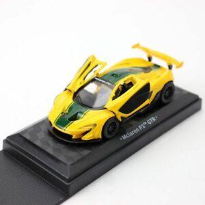 1/40 Scale McLaren P1 GTR Racing Car Model Diecast Vehicle Collection Yellow