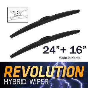 "REVOLUTION 24"" + 16"" Hybrid Wiper Blades for Mazda BT-50 UTE 2011~2015"