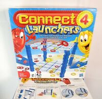 Connect 4 Launchers The Frantic Fast-Flying 4-in-a-Row Board Game - Complete