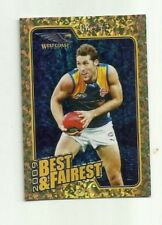 2010 AFL SELECT WEST COAST EAGLES DARREN GLASS Herald Sun Best & Fairest BF15