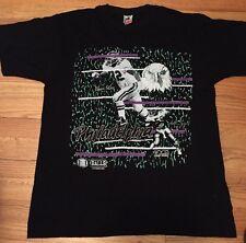 Vintage PHILADELPHIA American Foot Ball NFL Soft Thin T Shirt. Sz. L Made In USA