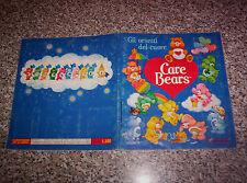 ALBUM figurine CARE BEARS PANINI 1986 COMPLETO MB/OTT +PUBBLICITA^ NO CALCIATORI