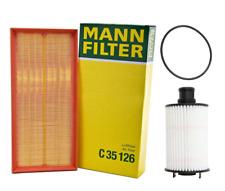 OEM Air Filter Oil Filter Kit Mann-Filter Land Rover LR4 Range Rover / Sport