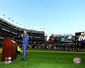 """Derek Jeter New York Yankees Retirement at Yankee Stadium Photo (8"""" x 10"""")"""