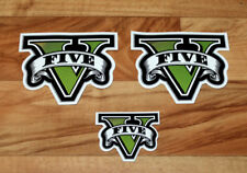 GTA V 5 Grand Theft Auto Rare Promo Sticker Set PS3 PS4 Xbox One 360