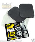 Rubber Lifting Grips GYM WORKOUT GRIP GLOVES Bodybuilding 1 Pair / 2 Pads