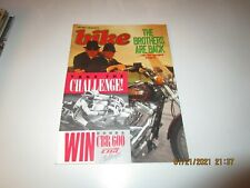 Bike Magazine UK  JUL 1987 - HARLEY DAVIDSON