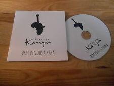CD Ethno Projecto Kaya - Bem Vindos A Kaya (5 Song) Promo PRIVATE PRESS cb