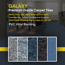 50X50CM 20Pcs 5m2 box GALAXY Premium Carpet Tiles PVC Vinyl Backing Heavy Duty