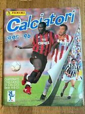 Album figurine Panini CALCIATORI 1995 96 COMPLETE sticker football italia card 9