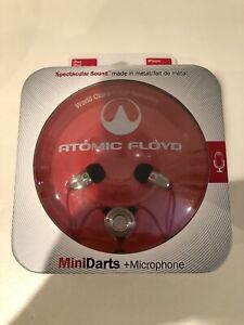 Atomic Floyd-Mini Dart & Mikrofon In Ear Kopfhörer