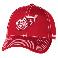 """Detroit Red Wings Reebok NHL """"High Stick"""" Slouch Adjustable Hat"""