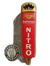 Budweiser Nitro Tap Handle Brand New In Original Box.