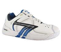 Hi-Tec T501 White Low Profile Court Tennis Mens Shoes Trainers UK7-12