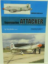 Warpaint Series No.094 - Supermarine Attacker   40 Pages     Book