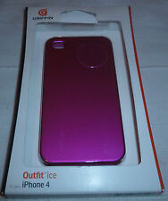 Griffin Outfit Ice for iPhone 4 In Pink  (1st class p+p)