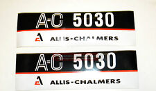 AC5030 New ALLIS CHALMERS Compact Tractor 5030 Hood Decal Set AC Decals