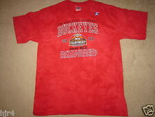 Ohio State Buckeyes OSU BCS Bowl Game Football T-Shirt L Large Mens NEW