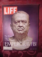 LIFE April 9 1971 FBI J. EDGAR HOOVER WILLIAM CALLEY ++