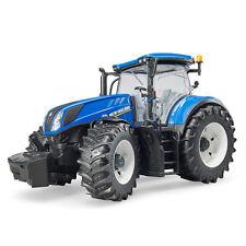 BRUDER Kinder Spielzeug Traktor New Holland T7.315 Spielzeugtraktor blau / 03120