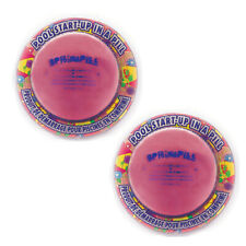 "2 Pack AquaPill Spring Pill 4""Inch Start Up Pill for All Types of Swimming Pools"