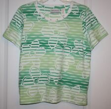 NWOT Alfred Dunner Women's Ladies Top - Group: Bahama Bays - PM