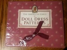 The American Girls Doll Dress Patern Set for Felicity NEW Factory Sealed