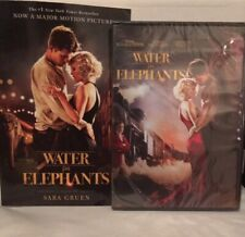 Water for Elephants 2011 film (DVD and Movie Tie-In Paperback) Robert Pattison