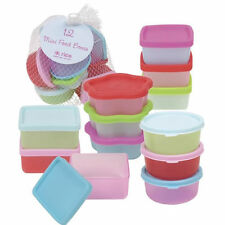 RICE Mini Food Boxes - Set of 12 - Combined Postage