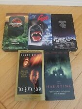 Assorted Horror Thriller Movies Cujo The Lost World Vhs