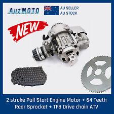 TDRMoto 43 47cc 49cc Mini PIT Pocket Rocket Quad Dirt Bike ATV T8F Chain 64T Sprocket