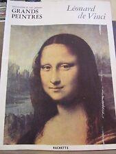Chefs d'Oeuvre de l'Art, Grands Peintres: Léonard de Vinci / Hachette