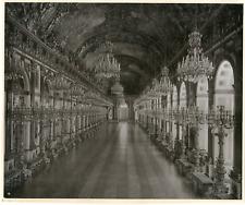 Allemagne, Bavière, Schloss Herrenchiemsee, König Ludwig II von Bayern Vintage p
