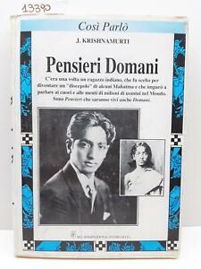 Roberto Romiti Krishnamurti Prima Così Parlò J Krishnamurti Blu International St