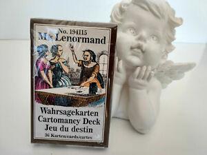 Jeu de cartes oracle le jeu du destin de Mlle Lenormand neuf en Français